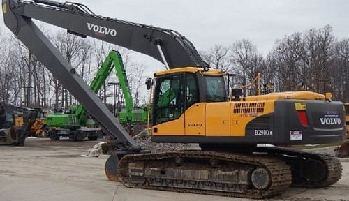 Volvo Ec290c Lr Excavator Service Repair Manual