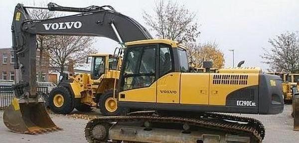 Volvo Ec290c Nl Excavator Service Repair Manual