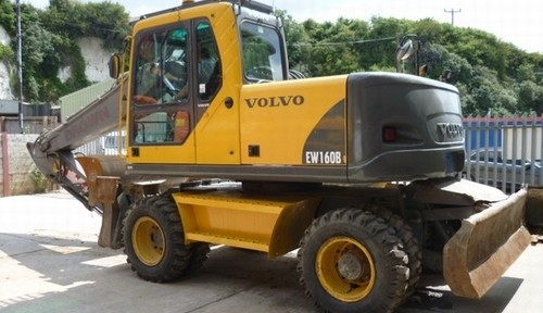 Volvo Ew160b Wheeled Excavator Service Repair Manual