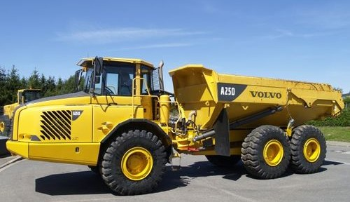 Volvo A25d Articulated Dump Truck Service Repair Manual