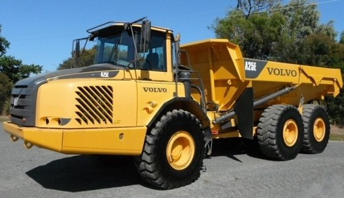 Volvo A25e 4x4 Articulated Dump Truck Service Repair Manual