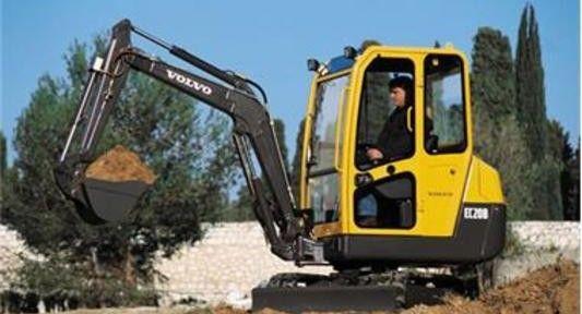 Volvo Ec20b Xt Compact Excavator Service Repair Manual