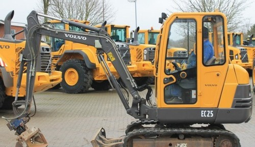 Volvo Ec25 Compact Excavator Service Repair Manual