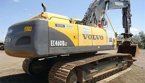 Volvo Ec460b Lc Excavator Service Repair Manual