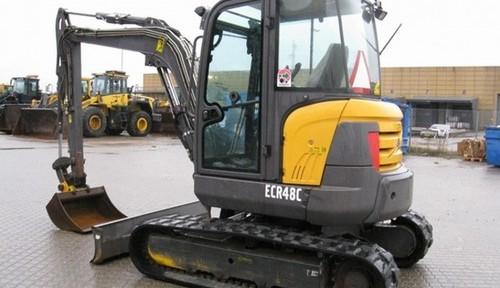 Volvo Ecr48c Compact Excavator Service Repair Manual