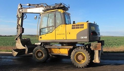 Volvo Ew140c Wheeled Excavator Workshop Repair Manual