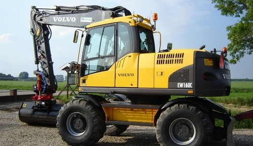 Volvo Ew160c Wheeled Excavator Service Repair Manual