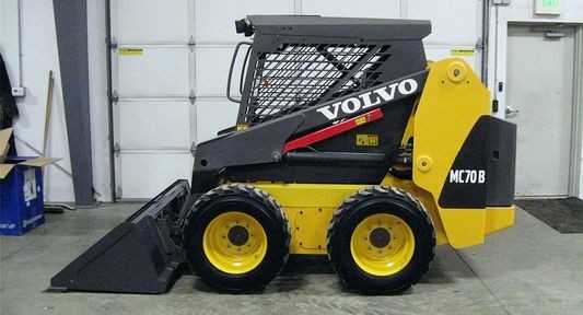 Volvo Mc70b Skid Loader Steer Service Manual