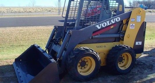 Volvo Mc80 Mc90 Mc110 Skid Steer Loader Service Manual