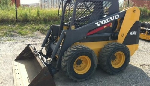 Volvo Mc80b Skid Steer Loader Workshop Service Manual