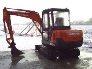 Doosan Daewoo Solar 035 Mini Excavator Full Parts Pdf Manual