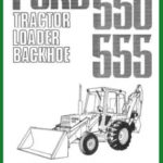 Ford 550 Tractor Loader Backhoe Tlb Illustrated Parts List Manual