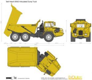 Hitachi B50D Mk III 6x6 Dump Truck Workshop Service Repair Pdf Manual