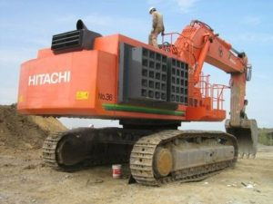 Hitachi excavators EX1200-5C
