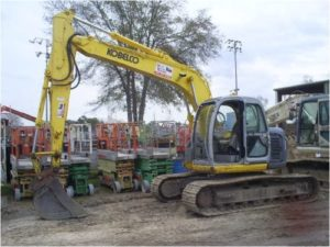 Kobelco SK135SRLC-1E Hydraulic Crawler Workshop Excavator Repair
