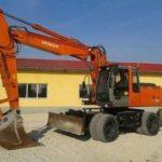 Hitachi Zaxis 180w 210 w Wheeled Excavator Operator Manual Pdf