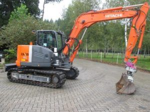 Hitachi Zaxis Zx 85usblc-3 Excavator Workshop Service Manual