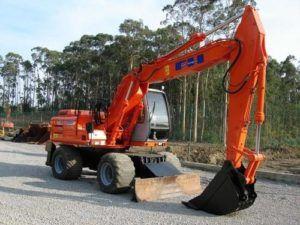 Fiat Hitachi EX165W Excavator Workshop Service Repair Manual