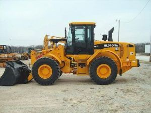 Hyundai Wheel Loader HL740-7A, HL740TM-7A Worshop Service Manual