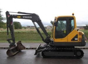 Volvo EC55-EU Excavator Service Parts Catalogue Pdf Manual