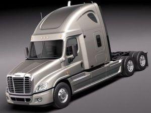 Freightliner Cascadia CA125DC, CA125SLP Trucks Workshop Service Repair Manual