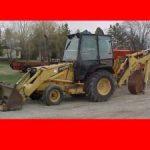 New Holland Ford 455c 555c 655c Tractor Loader Backhoe Workshop Service Manual