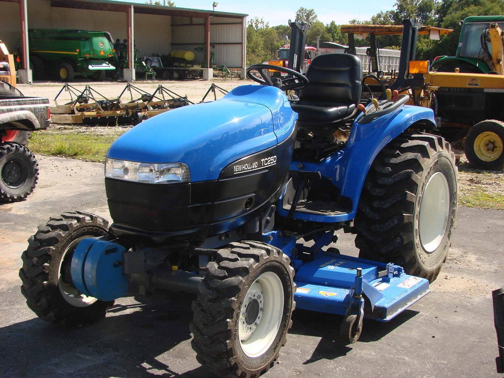 New Holland Tc25d Tractor Illustrated Master Parts List Pdf Manual