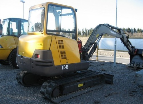 Volvo Ec45 Compact Excavator Workshop Service Manual