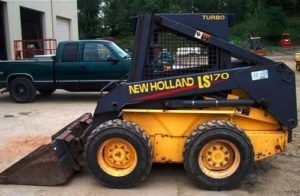 New Holland LS160 LS170 Skid Steer Loader Parts Catalogue Manual