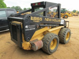 New Holland Lx865 Skid Steer Loader Illustrated Parts Pdf Manual