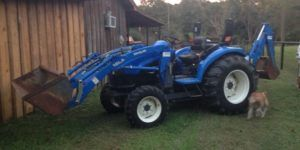 New Holland Tc35 specs Tractor Parts Manual