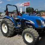 New Holland Tc55da 4 Cylinder Compact Tractor Parts List Manual Book