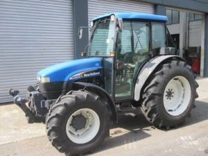 New Holland Tn65d front end loader Tractor Parts Pdf Manual