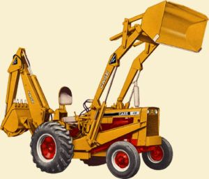 Case 530CK 530 Construction King Backhoe Loader Parts Manual