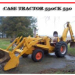 Case 530CK 530 Construction King Tractor Engine Illustrated Parts Manual