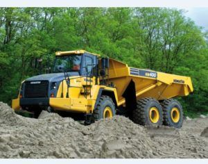 Komatsu Hm400-3 Articulated Dump Truck Workshop Service Manual