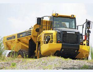 Komatsu Hm400-3mo Articulated Dump Truck Service Workshop Manual