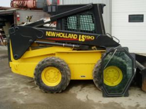 New Holland Ls190b ls 190b Skid Steer Loader Illustrated Parts List Manual