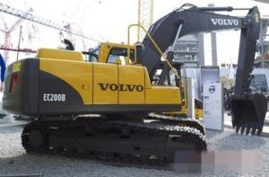 Volvo Ec200b Excavator Service Parts Catalogue Manual