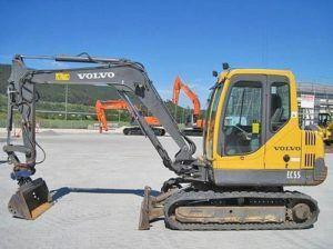 Volvo Ec55 Compact Excavator Workshop Service Repair Manual