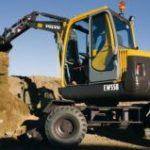 Volvo Ew55b Wheel Excavator Service Repair Manual