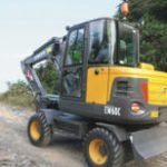Volvo Ew60c Compact Wheel Excavator Service Repair Manual