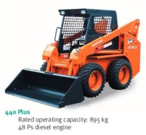 Daewoo Doosan 440 Plus Skid Steer Loader Service Parts Catalogue Manual