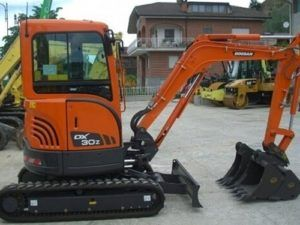 Daewoo Doosan Dx30z Excavator Service Parts Catalogue Manual
