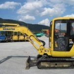 Komatsu PC35R-8, PC45R-8 Operation Maintenance Manual