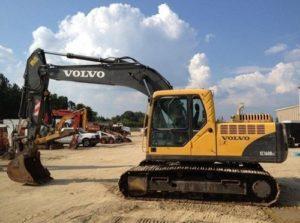 Volvo Ec160b Lc, Ec160b Nlc (ec160blc Ec160bnlc) Excavator Service Parts Manual