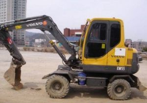 Volvo Ew55 Compact Excavator Service Parts Catalogue Manual