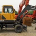 Volvo Ew55b Compact Excavator Service Parts Catalogue Manual