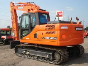 Daewoo Doosan Dx140lc Crawler Excavator Service Catalogue Manual