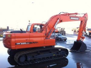 Daewoo Doosan Dx225lca Crawler Excavator Service Parts Manual